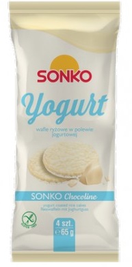 Sonko Yogurt wafle ryżowe