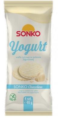 Sonko Yogurt wafle ryżowe