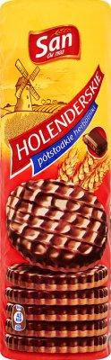 San herbatniki holenderskie w czekoladzie