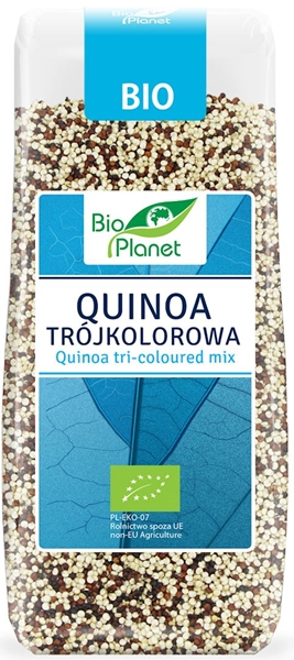 Bio planet Quinoa (komosa ryżowa) trójkolorowa