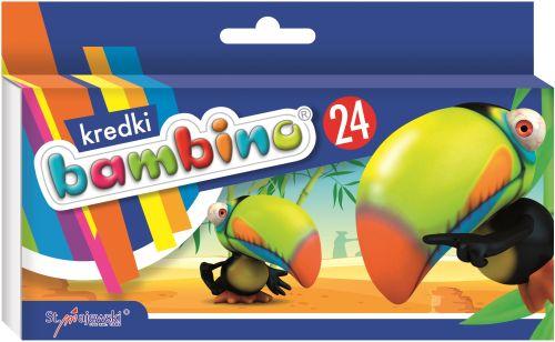 lápices de colores bambino 24