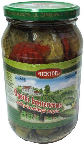 Hektor ogórki konserwowe kaszubskie