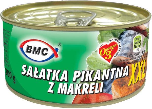 BMC sałatka pikantna z makreli XXL