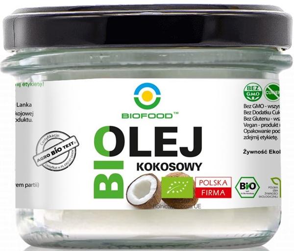 BIO FOOD ekologiczny olej kokosowy