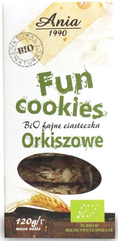 Bio Ania Fun cookies orkiszowe BIO