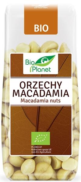 Bio Planet orzechy Macadamia ekologiczne