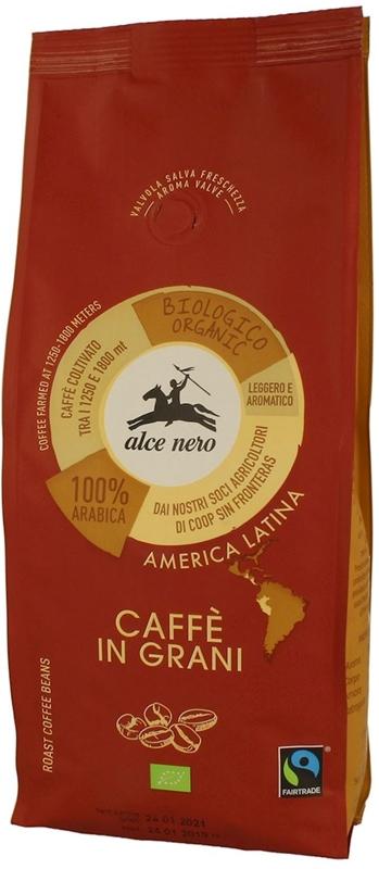 Alce Nero kawa ziarnista BIO 100% arabica