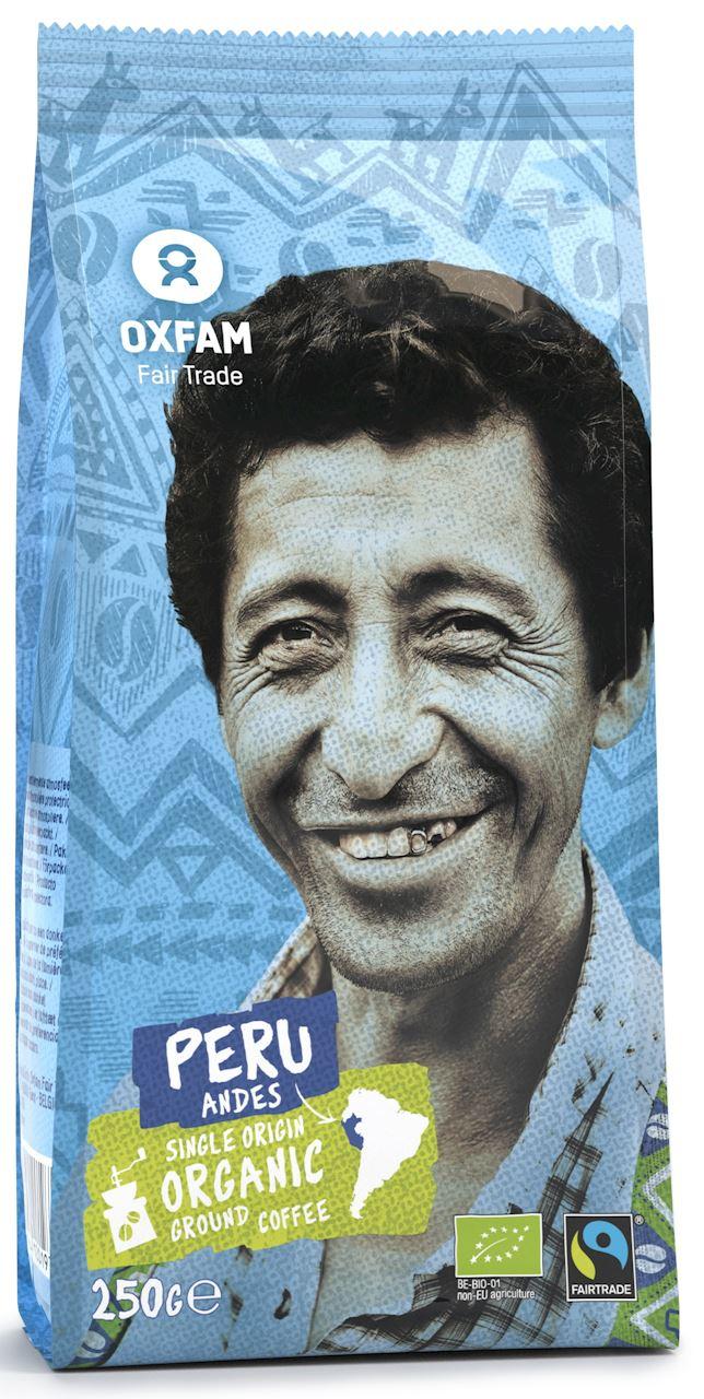 Oxfam kawa mielona Arabica 100% PERU FAIR TRADE BIO