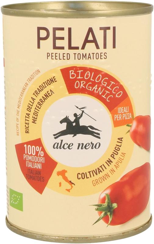 bio tomates sin piel PELATI enlatados
