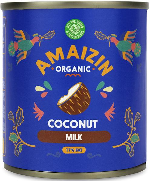 Amaizin coconut milk 17% BIO