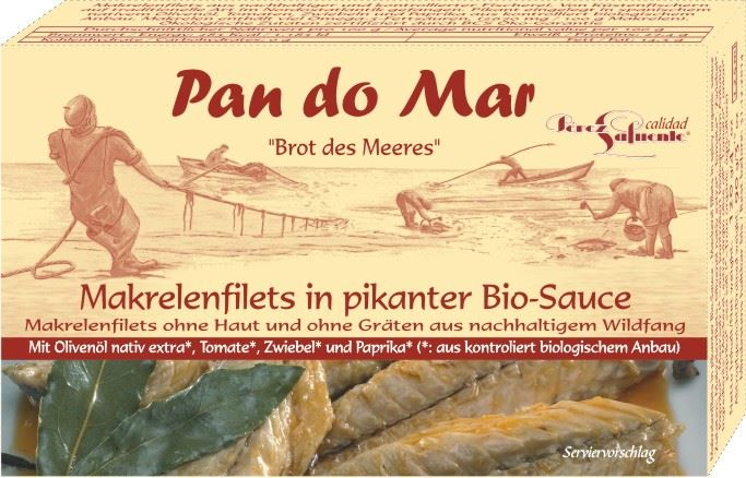 Pan do Mar Makrela w BIO pikantnym sosie