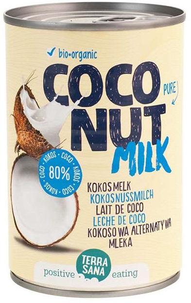 Terrasana Mleko Kokosowe BIO 22 % tłuszczu
