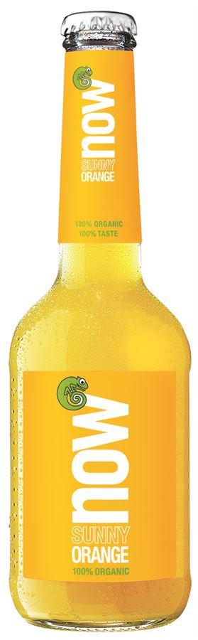 Now Synny Orange napój o smaku pomarańczowo-cytrynowym BIO