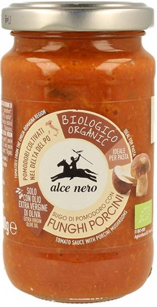 Alce Nero Sos pomidorowy z borowikami BIO