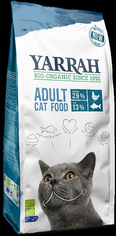 Yarrah karma dla kota dorosłego BIO Ryba