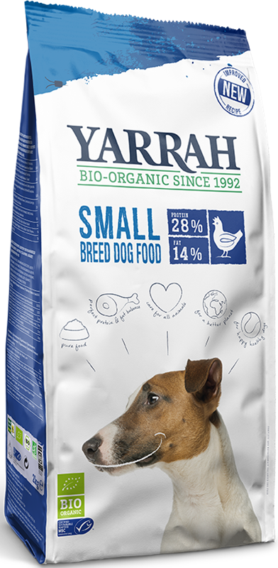 Yarrah karma dla psa małej rasy BIO Kurczak