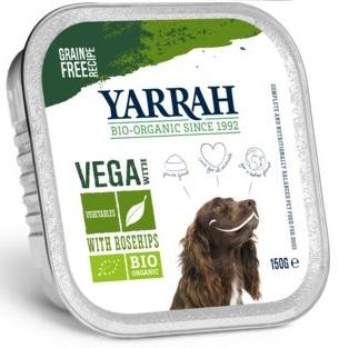 Yarrah Karma dla psa vege z owocami z dzikiej róży EKO
