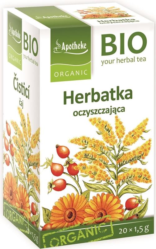 Apotheke herbata oczyszczająca BIO