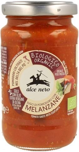 Alce Nero sos pomidorowy z grillowanym bakłażanem BIO