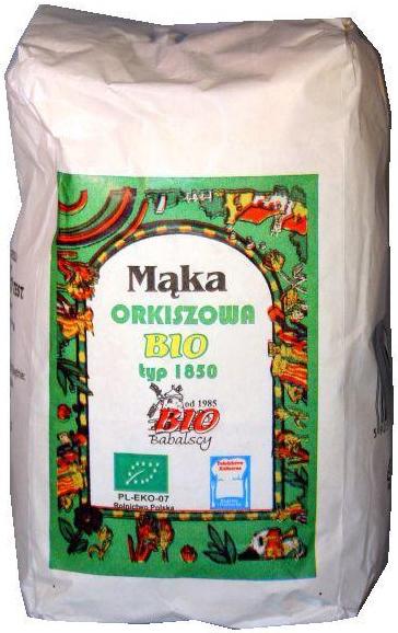 Babalscy mąka orkiszowa graham typ 1850 BIO