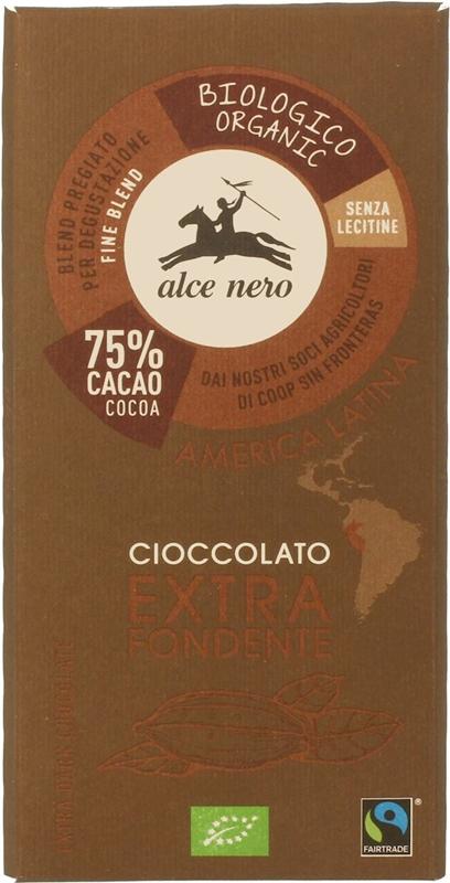 Alce Nero czekolada gorzka BIO