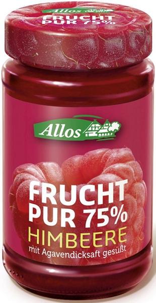Allos Mus malinowy 75% owoców BIO