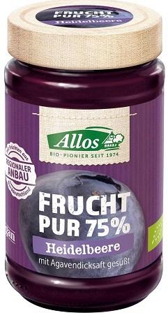 Allos Mus jagodowy 75% owoców BIO