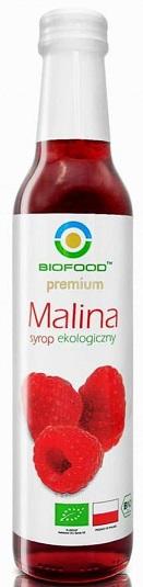 Bio Food syrop malinowy BIO