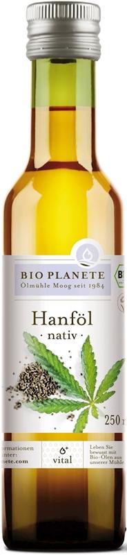 Bio Planete olej z konopi virgin ekologiczny
