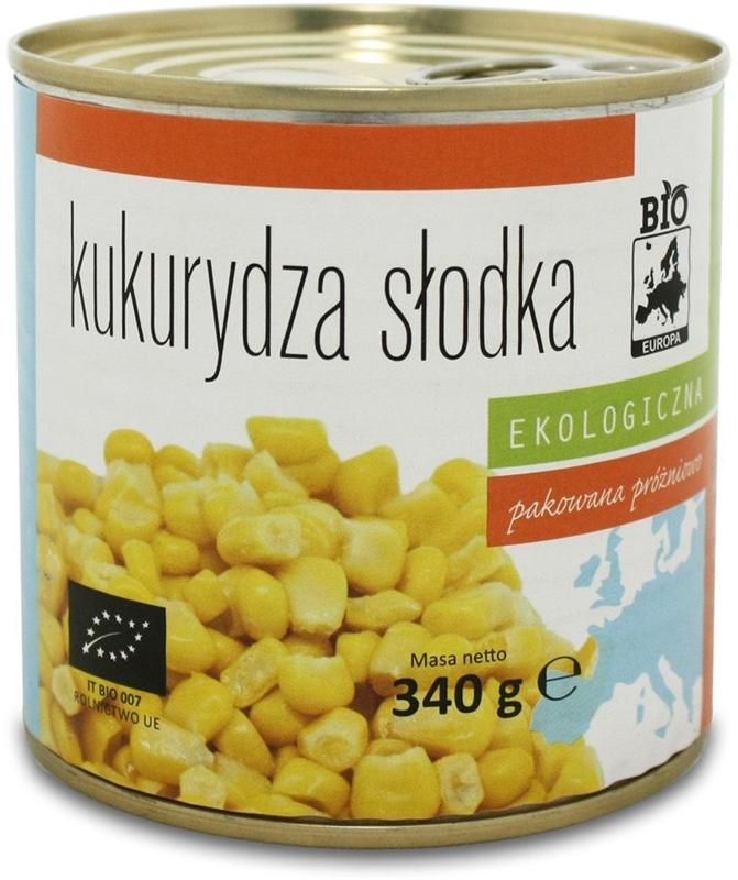 Bio Europa kukurydza słodka BIO
