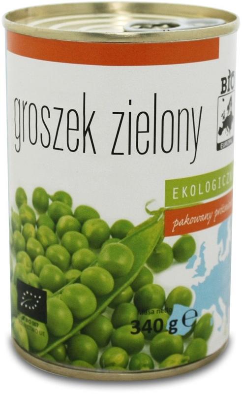 Bio Europe guisantes verdes preservando BIO