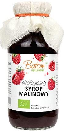 Batom syrop malinowy BIO