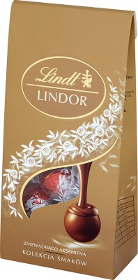 Lindt Lindor Assorted  Pralinki czekoladowe z nadzieniem