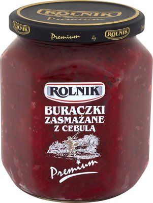Rolnik Premium Buraczki zasmażane z cebulą