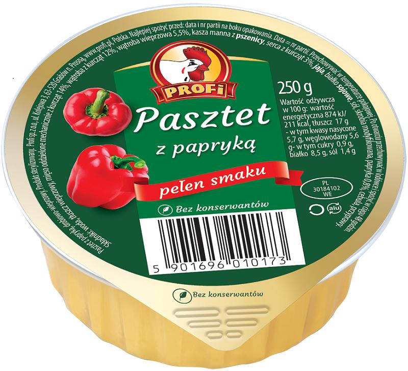 Profi Pate mit Paprika