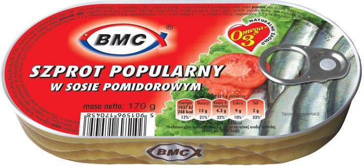 bmc sprat popular tomato sauce