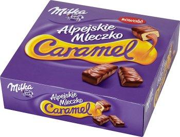 Milka Alpejskie mleczko  Caramel
