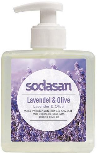 Sodasan ekologiczne mydło roslinne z oliwą z oliwek Lawendowo-oliwkowe