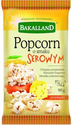 Bakalland Pop Corn serowy