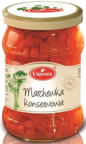 Urbanek marchewka konserwowa 520 g