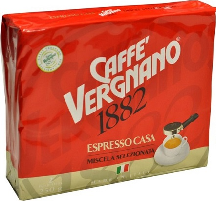 Caffe Vergnano 1882 kawa mielona Espresso Casa 2x250