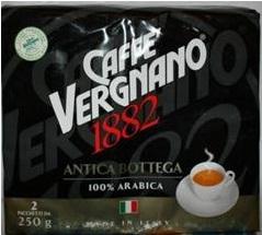 Caffe Vergnano 1882 kawa mielona 2x250 Antica Bottega