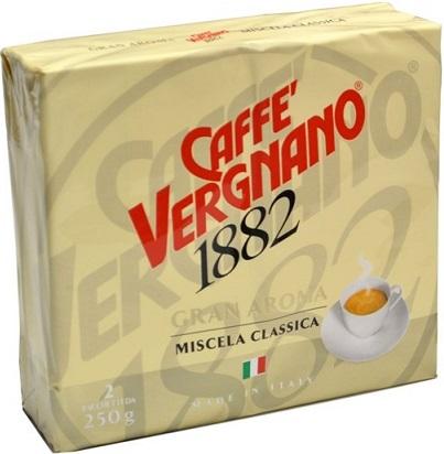 Caffe Vergnano 1882 kawa mielona Gran Aroma 2x250