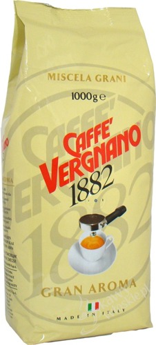 Caffe Vergnano kawa ziarnista Gran Aroma