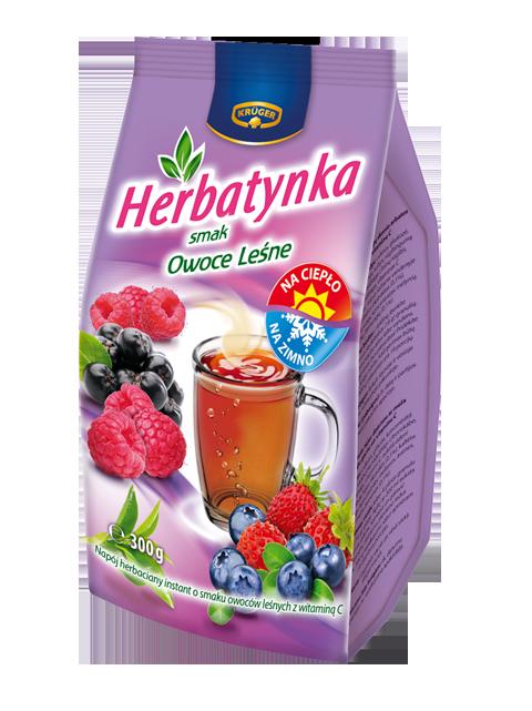 Herbatynka - smak owoce leśne Napój herbaciany instant