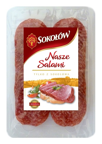 our salami slices