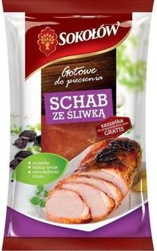 Sokołów Gotowe do pieczenia Schab ze śliwką