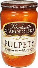 Kuchnia Staropolska pulpety w sosie pomidorowym