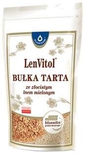 Oleofarm Bułka tarta ze złocistym lnem mielonym