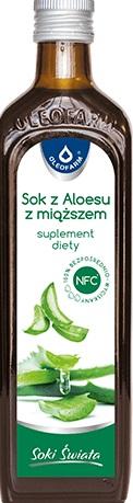 Oleofarm aloeVital sok z aloesu z miąższem suplement diety